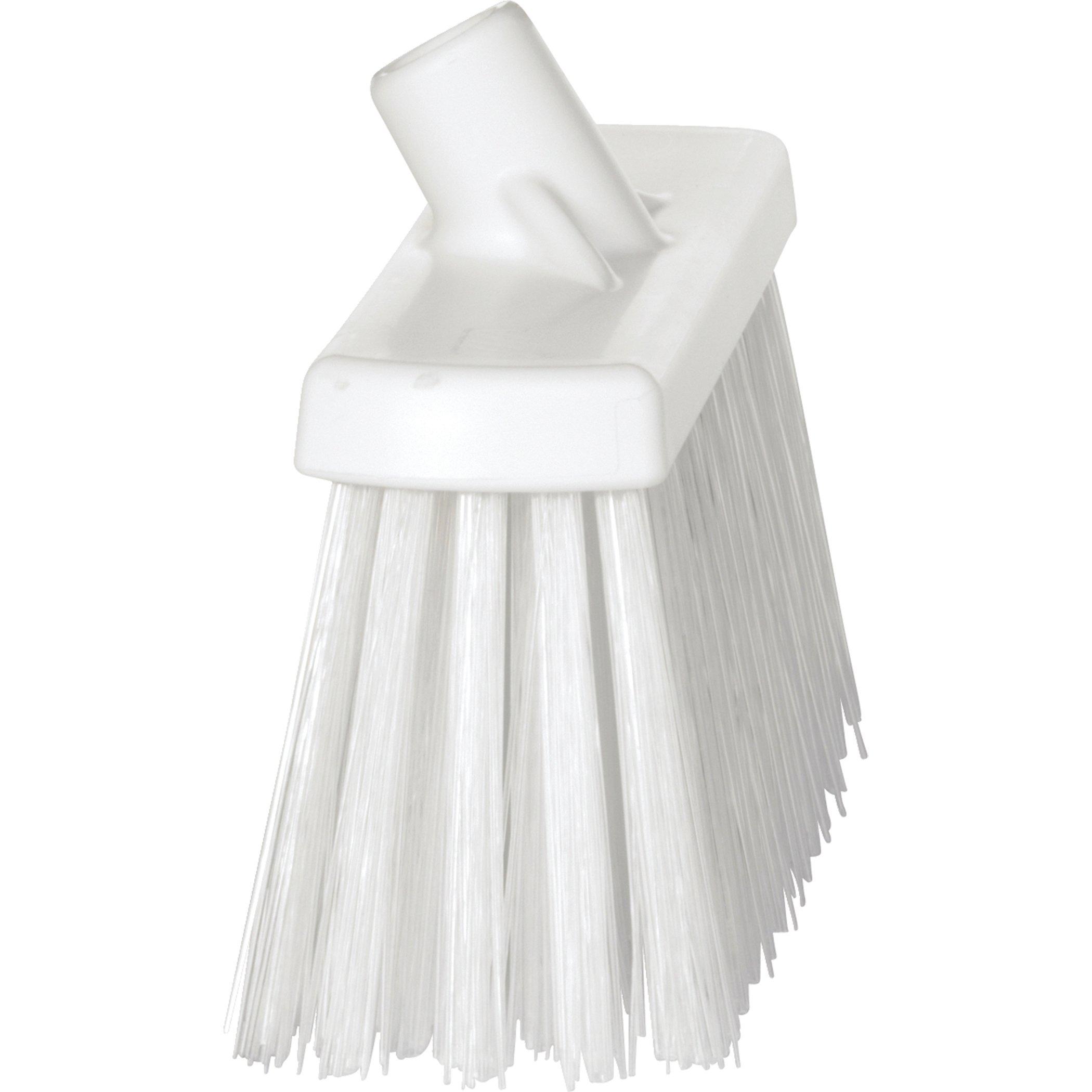 Vikan 29155 Heavy Duty Block Sweep Floor Broom Head, PET Bristle Polypropylene, 12-3/4'', White