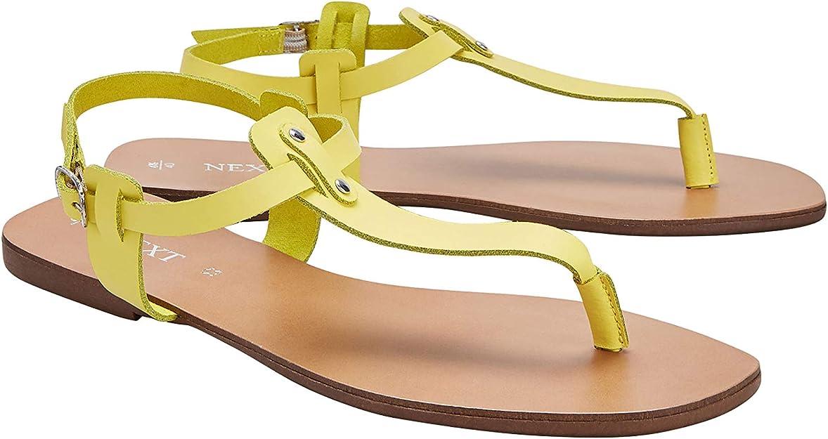 Fashion Sandals Yellow Size