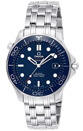 a804b055def Amazon.com  Omega Men s 212.30.41.20.03.001 Seamaster Diver 300m Co ...