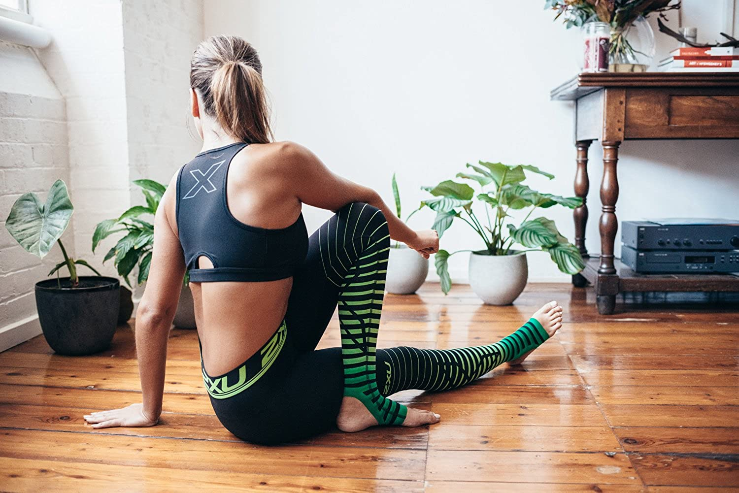 2XU Womens Elite Power Recovery Compression Tights