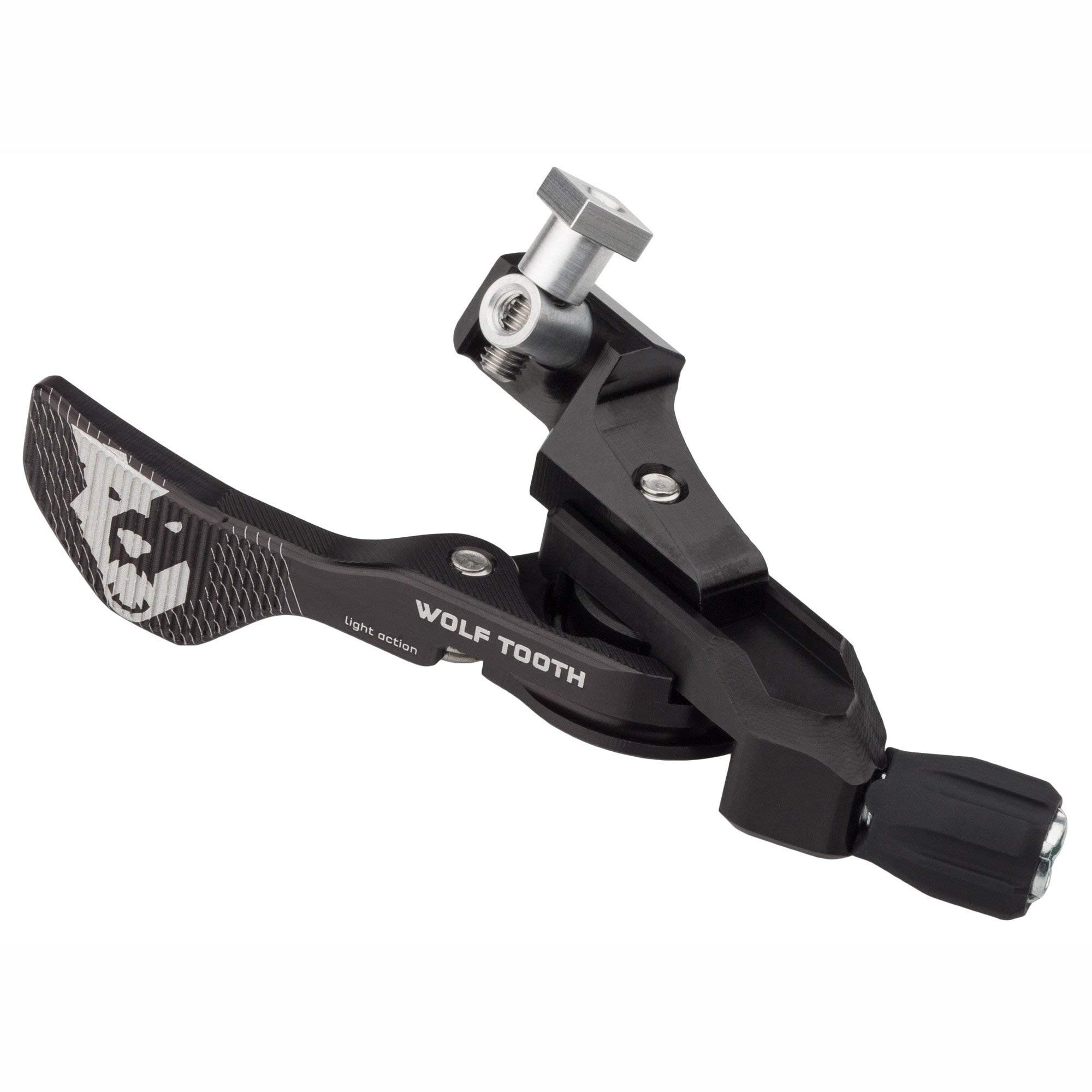Wolf Tooth Components Light Action Remote Black, Shimano I-Spec A/B by Wolf Tooth Components