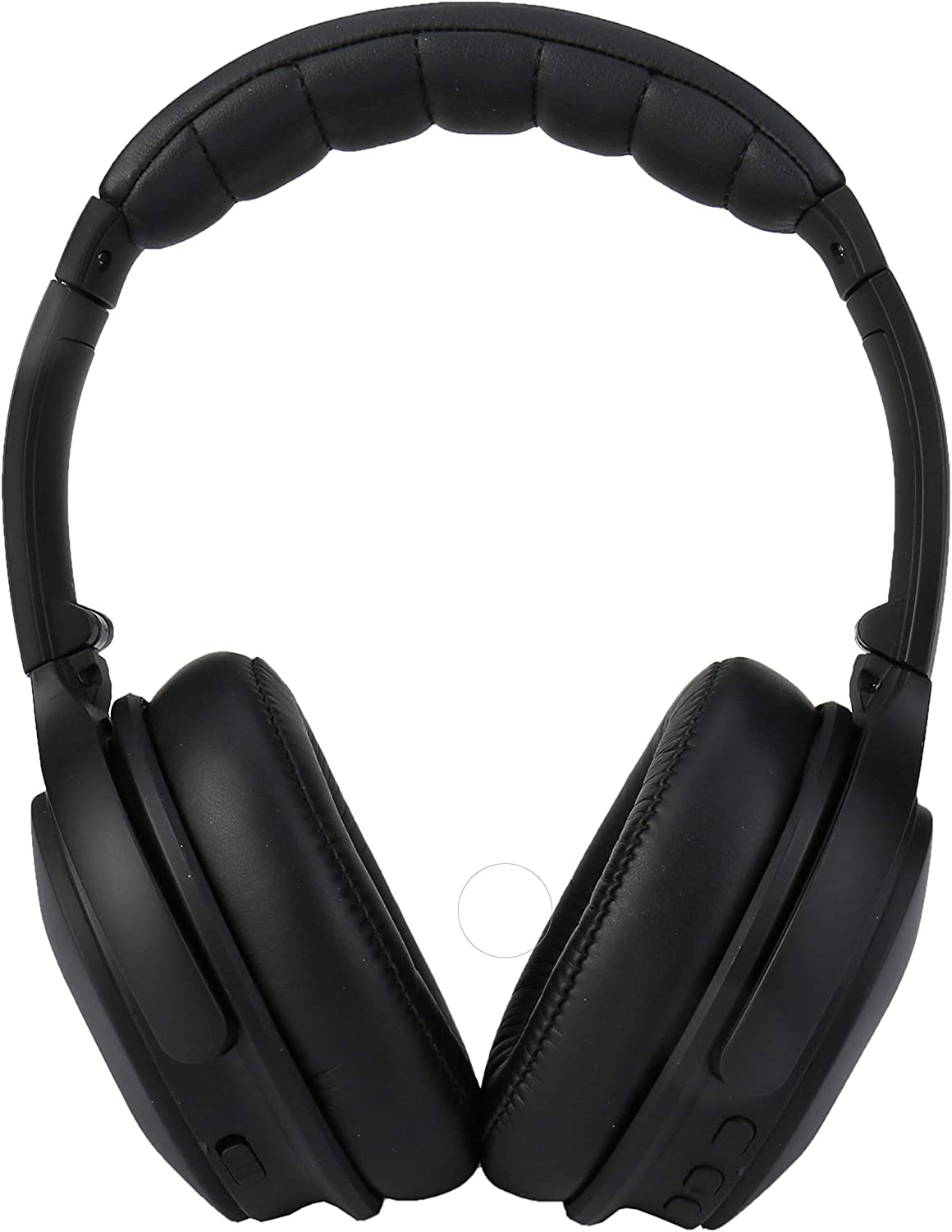 XINWU 801 Active Noise Cancelling Bluetooth Headphone w Soft Protein Earmuff, High Stereo Surround Sound, Built-in Mic, Wired Mode, 20h Long Battery Life Fodable Lightweight Over Ear Design Black