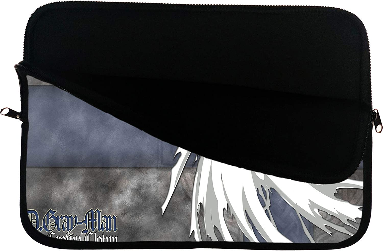 Brand4 D.Gray Man Anime Laptop Sleeve Bag Mousepad Surface Anime Bag 13 13.3 Inch Computer Bag Tablet Case Water Repellent Neoprene Cushioned Protection