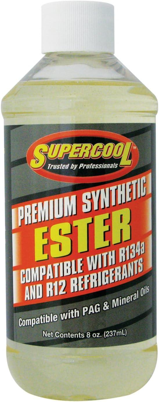TSI Supercool A/C Comp Ester Lube, 8 Oz, E7