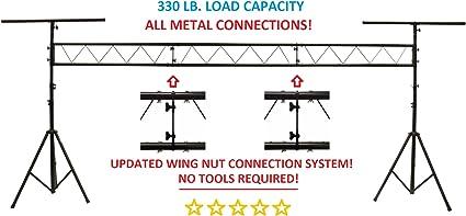 wiring diagram 1969 dj 5a amazon com cedarslink 15ft portable dj lighting truss stand w t  cedarslink 15ft portable dj lighting