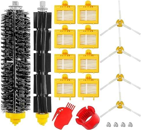 Kit de Accesorios para iRobot Roomba 700 Series, Recambios Repuestos para 700 720 750 760 765 770 772 772e 774 775 776 776p 780 782 782e 785 786 786p 790.: Amazon.es: Hogar