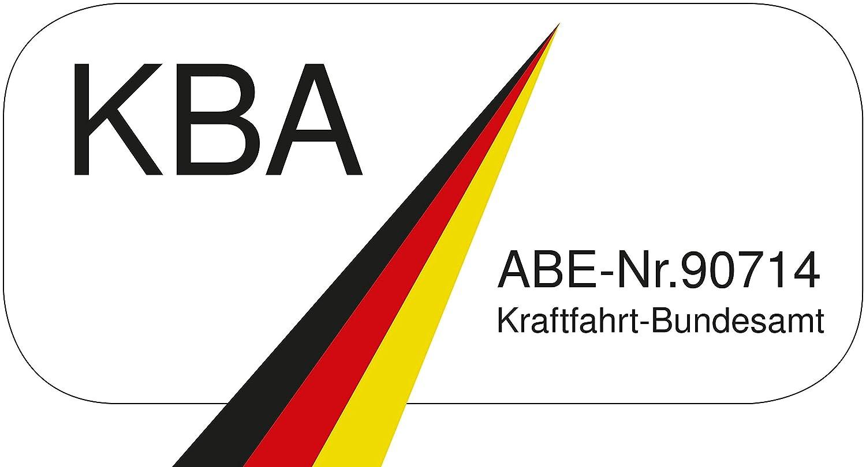 Walser 11945 Juego completo de tapicer/ía Nappa Touch piel sint/ética apto para airbags laterales con certificado de inspecci/ón t/écnica T/ÜV y homologaci/ón ABE