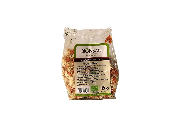 Bionsan Sopa Juliana - 6 Paquetes de 125 gr - Total: 750 gr: Amazon.es: Alimentación y bebidas
