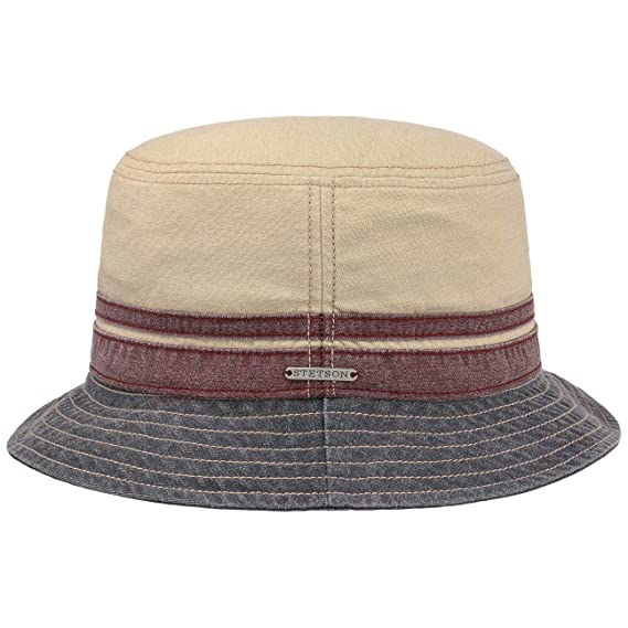 795702351 Stetson Washed Cotton Bucket Hat Sun: Amazon.co.uk: Clothing