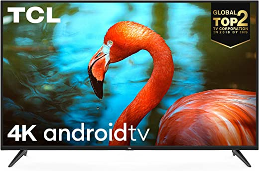TCL 43 inch AI 4K UHD Certified Android Smart LED TV 43P8 (Black)
