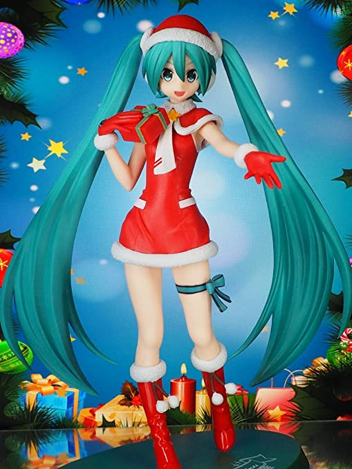 Christmas Hatsune Miku.Amazon Com Hatsune Miku Project Diva F 2nd Spm Figure