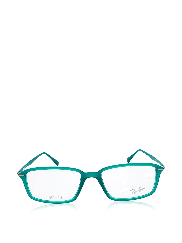 6dea06a461 Amazon.com  Ray-Ban Unisex 0RX7019 Demi Shiny Green One Size  Clothing