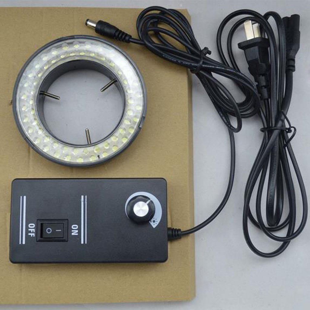 Sarora 56 LED Adjustable Ring Light Illuminator Lamp for Stereo Zoom Microscope