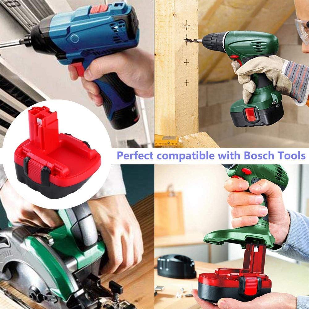 2x GatoPower 3.0Ah Reemplazo para bater/ía Bosch 12V Ni-MH BAT043 BAT045 BAT120 BAT139 2607335542 2607335526 2607335274 2607335709 Herramienta el/éctrica inal/ámbrica