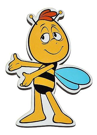 Magnet - Willi - die Biene Maja - aus Holz für Kinder - Kinderzimmer ...