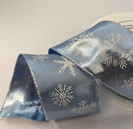 GOLD SILVER GIFT,BOW 1m 40mm QUALITY WIRED CHRISTMAS RIBBON  BLACK,WHITE,BROWN