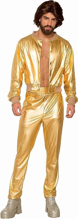 Forum Novelties AC81217 - Disfraz de cantante de discoteca para ...