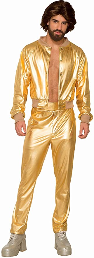 70s Costumes: Disco Costumes, Hippie Outfits Forum Novelties Inc - Mens Disco Singer Costume $30.24 AT vintagedancer.com