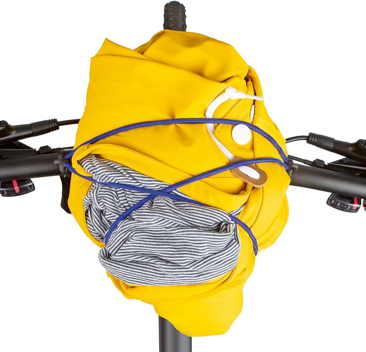 Spanngummi Gep/äckspanner Elastisches Gummiband Fahrradlenker Klettverschluss carryyygum Lenkerspannband 105cm Mini-Gep/äcktr/äger f