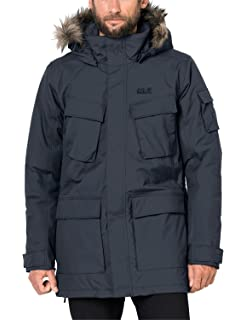 Jack Wolfskin Herren Point Barrow Wetterschutzjacke: Amazon
