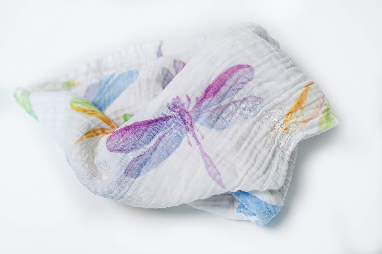 赤ちゃんのおくるみ Fly 大きなラップブランケット 新生児 男の子 47インチ 女の子 幼児 幼児 おくるみ 通気性 ソフトコットン 47インチ x 47インチ モスリンコットン100% Swaddle-Multi Dragon Fly B07LDMJ5VR, Deepinsideinc.Store:fa28b8e6 --- ijpba.info