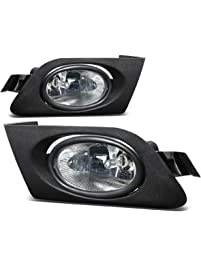 DNA Motoring FL-HC01-CH Front Bumper Fog Light, Driver & Passenger Side