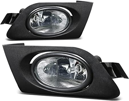 CLEAR LENS OE DRIVING//BUMPER JDM FOG LIGHT//LAMP+SWITCH FOR 01-03 CIVIC 2DR//4DR
