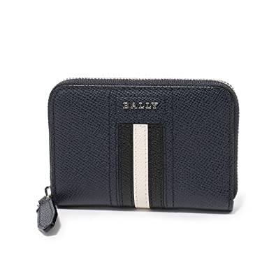 9405e06d5fb0 BALLY バリー TIVY LT 17 レザー コインケース 小銭入れ カードケース ミニ財布 NEW-