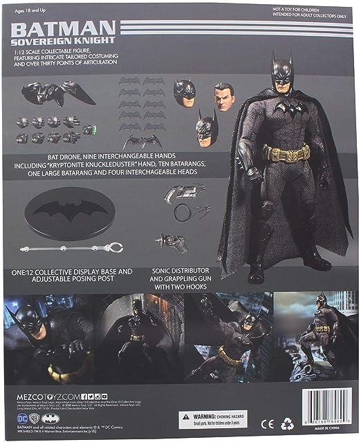 "New DC Comics Mezco Toyz One:12 Collective Batman 6/"" Figure SOVEREIGN Knight"