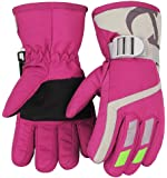 Kids Winter Warm Gloves For Snowboarding/Cycling Children Mittens For 3 To 6 Years