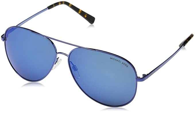 9d351920b29 Michael Kors Women s Kendall MK5016 60mm Navy Dark Blue Mirror Blue  Sunglasses