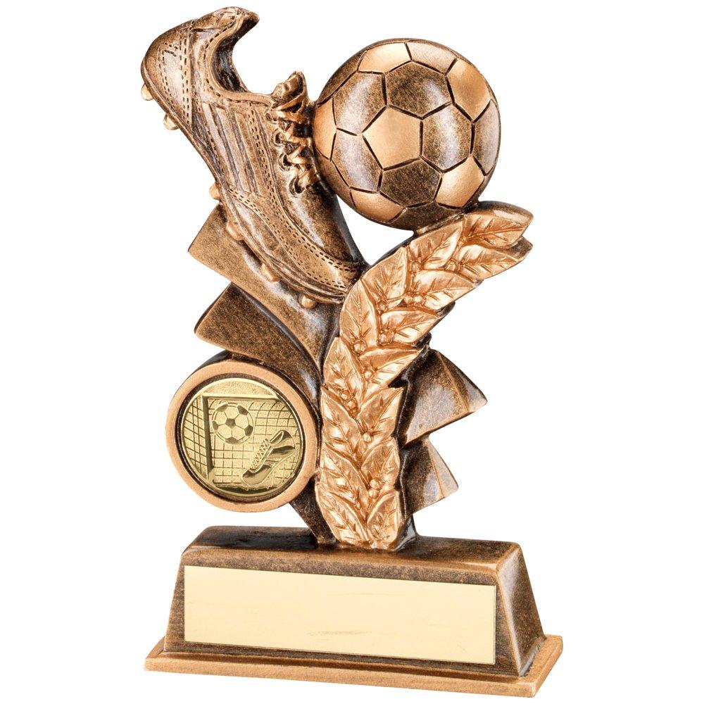 Fútbol-trofeo, Bronce/oro de resina de inducción-balón de fútbol ...