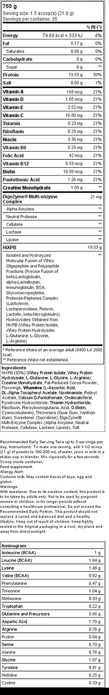 Xcore Nutrition 100% Whey Hydro Isolate Zero SS, Sabor Chocolate ...