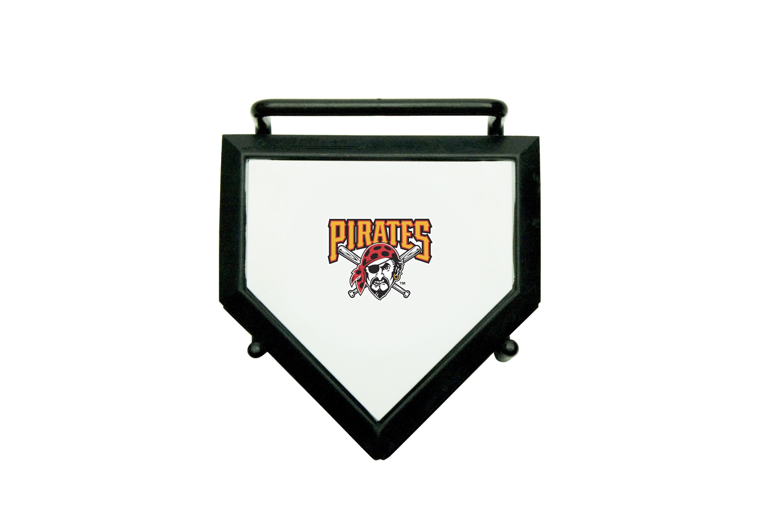 MLB Pittsburgh Pirates Home Plate 4-pack Coaster Set