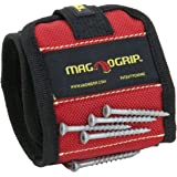 MagnoGrip 311-090 2 Pack Magnetic Wristband, Red