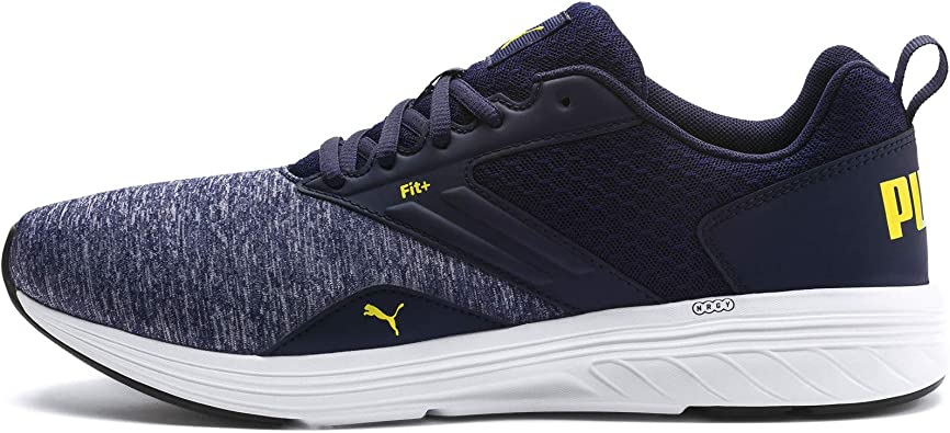 Puma NRGY Comet, Zapatillas de Running Unisex Adultso, Azul (Peacoat-Blazing Yellow), 44 EU: Amazon.es: Zapatos y complementos