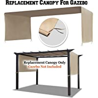 BenefitUSA G260 Universal Replacement Top Pergola Structure (18' L x 8.3' W) Canopy Cover