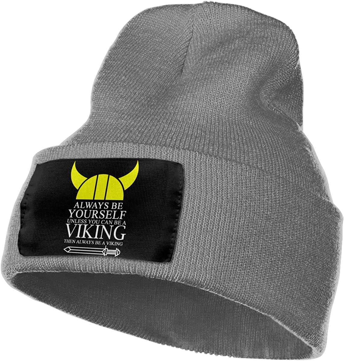 Always Be Yourself Unless You Can Be A Viking Men/&Women Warm Winter Knit Plain Beanie Hat Skull Cap Acrylic Knit Cuff Hat