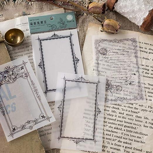 Senlinxiaoji 1 set 1 lotto serie di carta di acido solforico Memo Pad Sticky Notes Escolar Papelaria Materiale scolastico Segnalibro notepad Etichetta