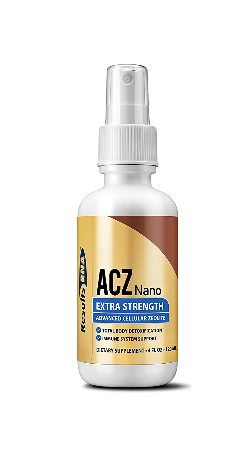 Results RNA ACZ Nano Advanced Cellular Zeolite Extra Strength Great For Total Body Detoxification and Immune System Health – 4oz Bottle