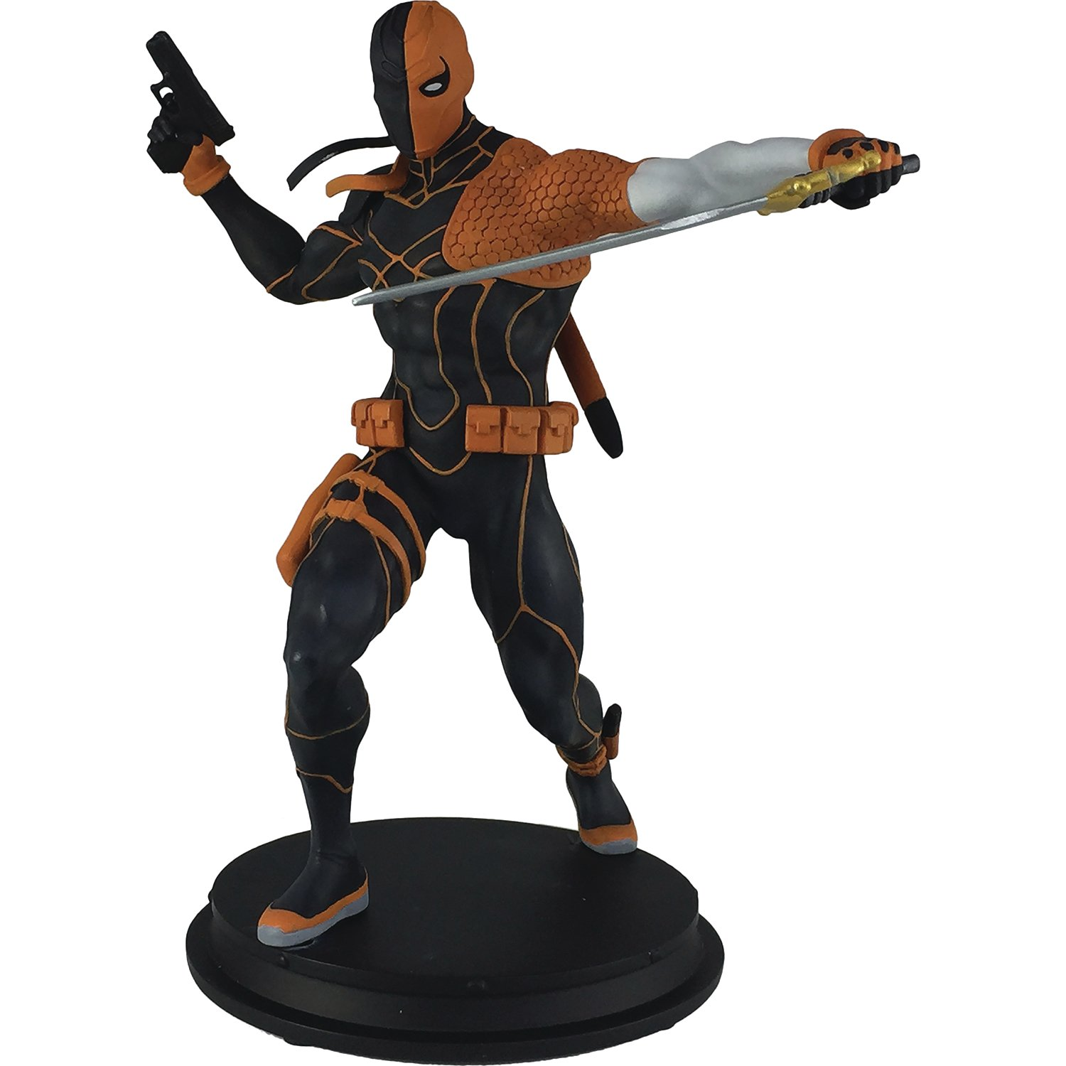 Icon Heroes DC Comics Rebirth Deathstroke Toy Figure Statues