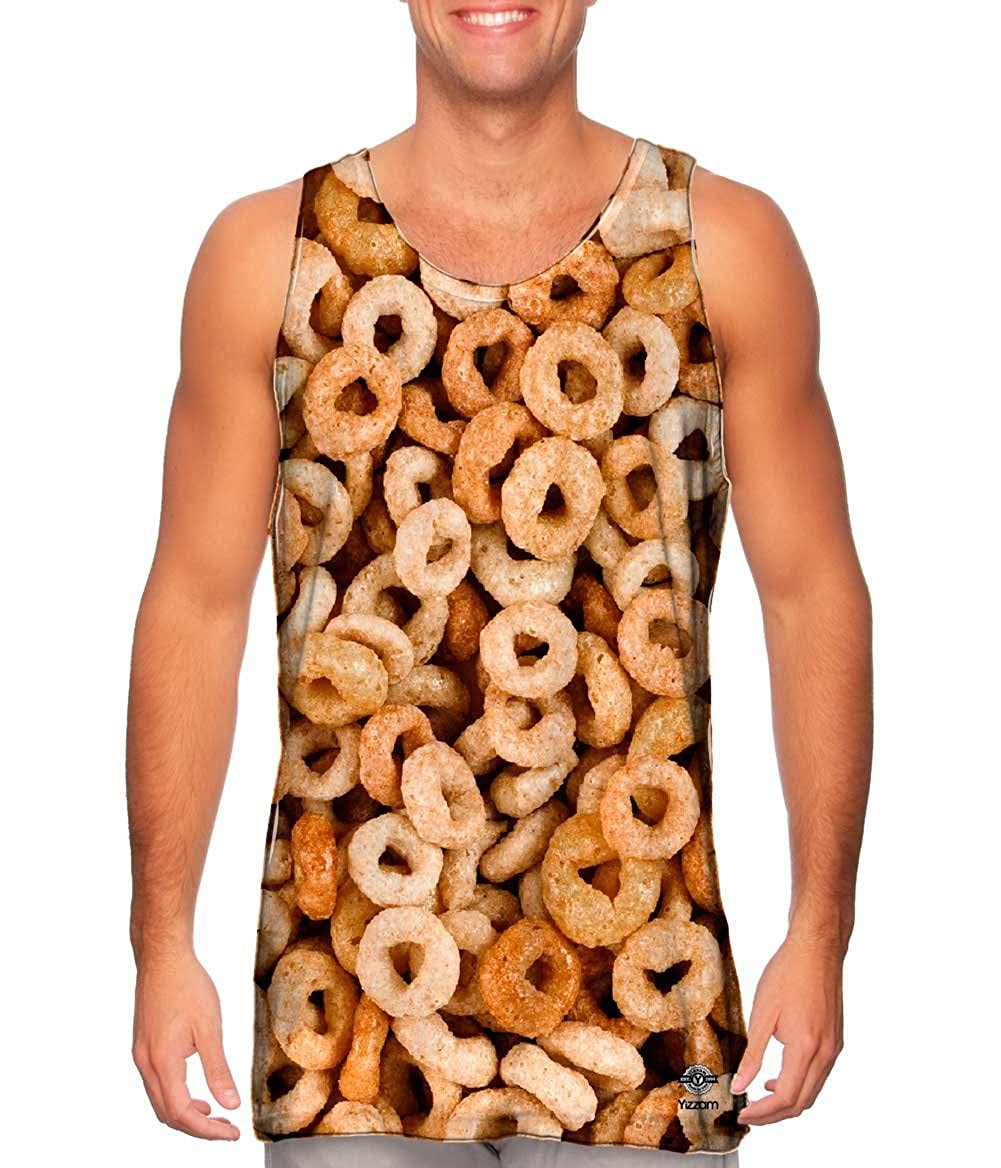 Cereal Lover Breakfast Tshirt Mens Tank Top Yizzam
