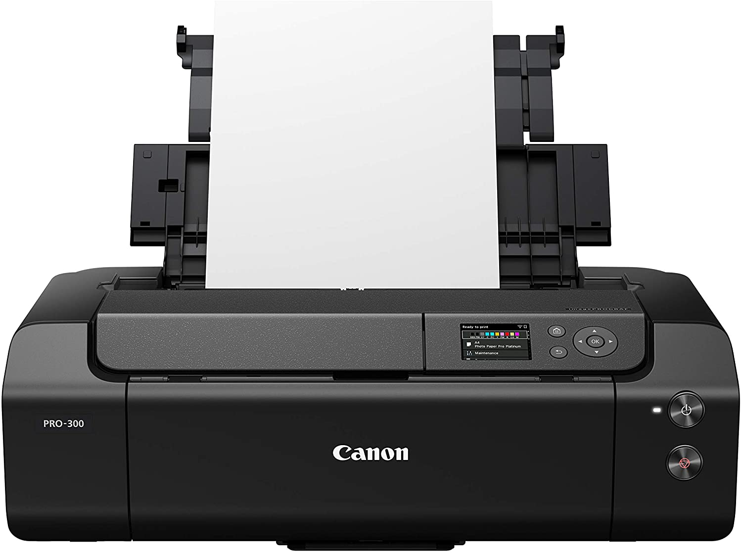 3.0 LCD Screen with Profession Print /& Layout Software and Mobile Device Printing Black Canon imagePROGRAF PRO-300 Wireless Color Wide-Format Printer Prints up to 13X 19
