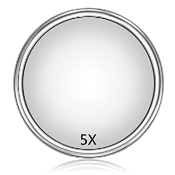 Amazoncom Magnifying Mirror With Suction Cup Large 9 Inch 5x