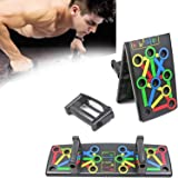 Costcluber Portable Push Up Board System, 12-in-1 Body Building Exercise Tools Workout Push Up Stands, Push Up Workout…