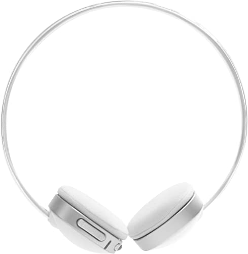 Impecca HSB100W Bluetooth Stereo Headset with Built in Microphone, White