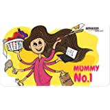 Amazon.in Gift Card - Gifts for Mom | Fridge Magnet - Mummy No. 1