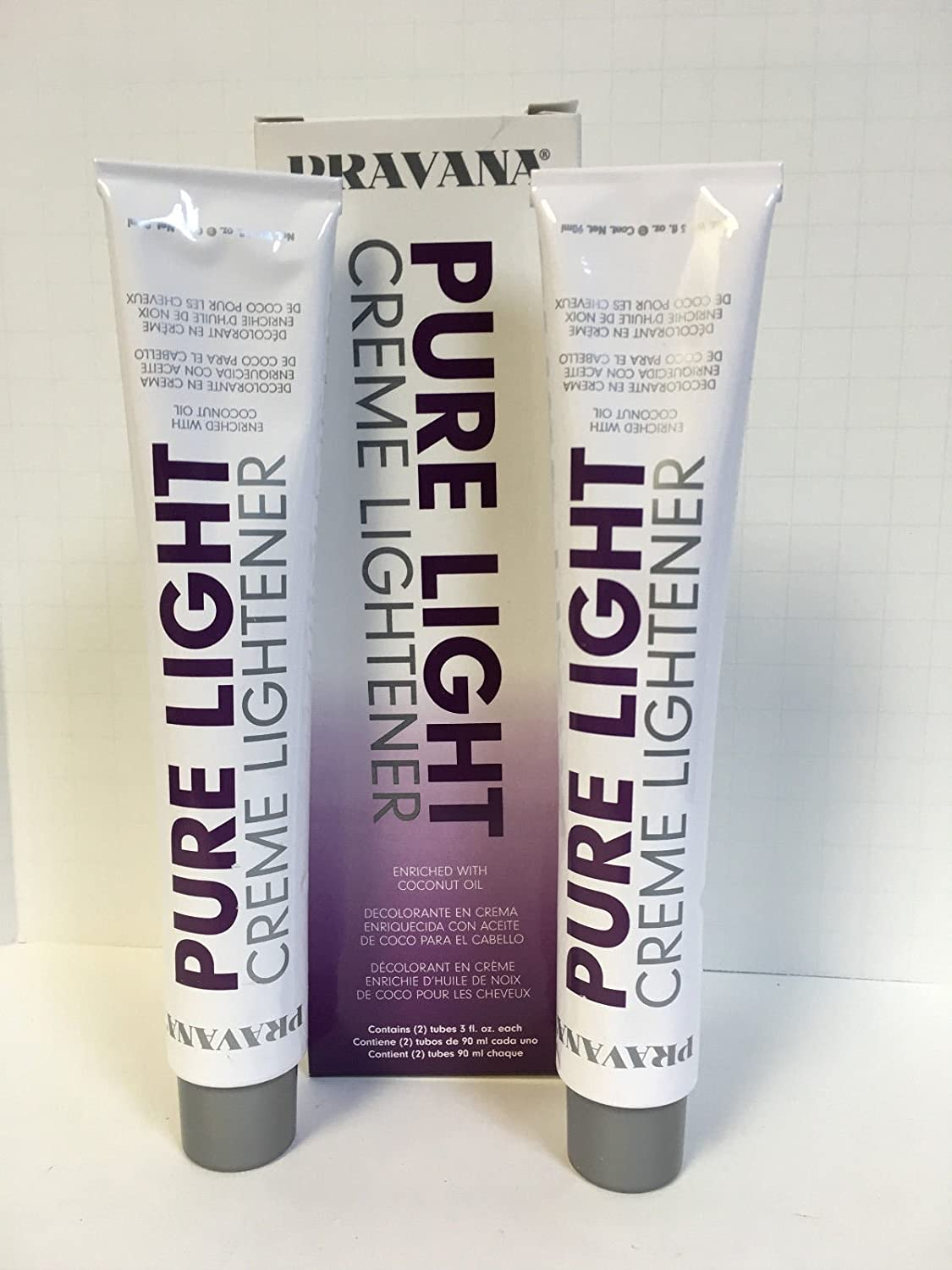Amazon Pravana The Perfect Blonde Pure Light Creme Lightener For Wand 2 3oz Tubes Beauty