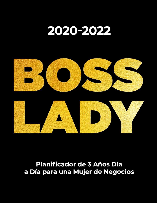 2020-2022 BOSS LADY Planificador de 3 Años Día a Día para ...