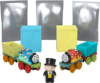 Thomas & Friends MINIS Fizz 'n Go Mega Pack with 5 Surprises